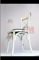 Универсален качествен дървен стол за външно използване