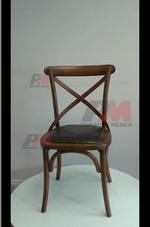 Външни евтини дървени виенски столове Тонет