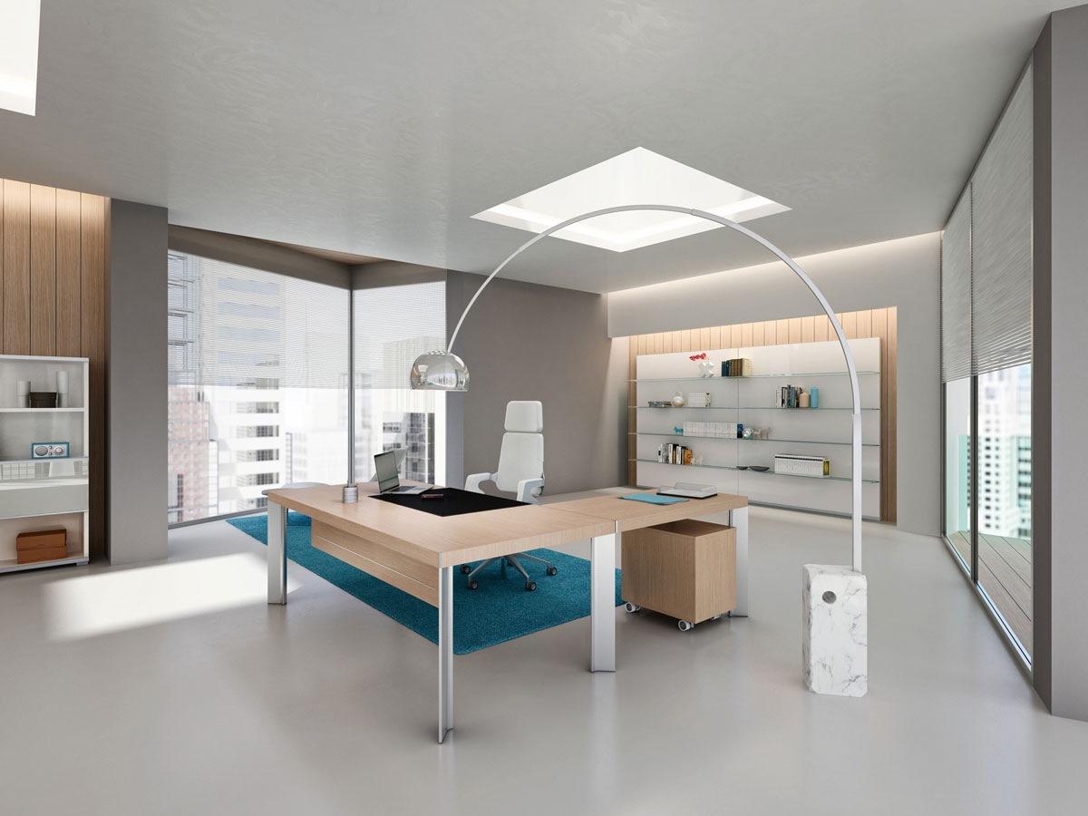 Мениджърски офис мебели от ПДЧ и МДФ