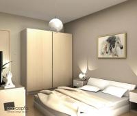 спальные комплекты для скошенных пространств