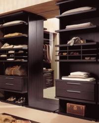роскошные гардеробы для спальни
