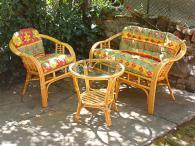 фирма Богатство от изпълнения на ратанова мека мебел по поръчка Пловдив